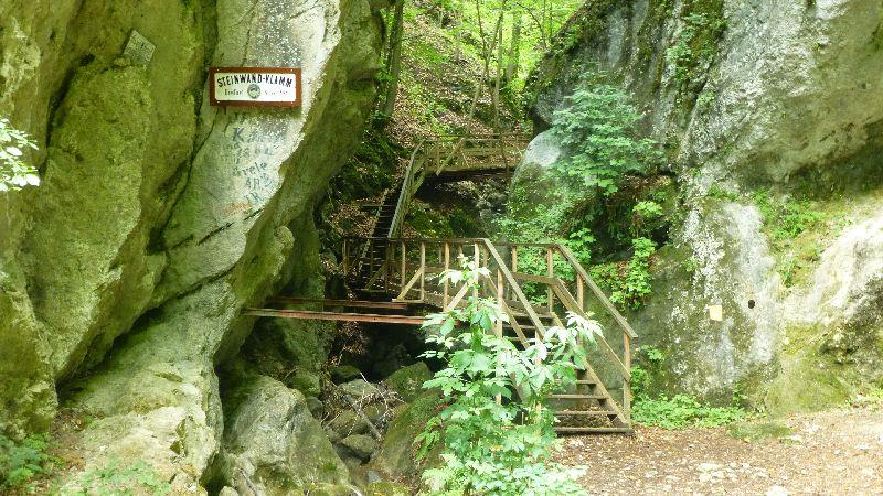 Steinwandklamm Wandern Wanderung Furth Klamm