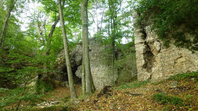 Maria Raisenmarkt Ruine Arnstein Peilstein Wandern Natur Wald Wanderung Höhle