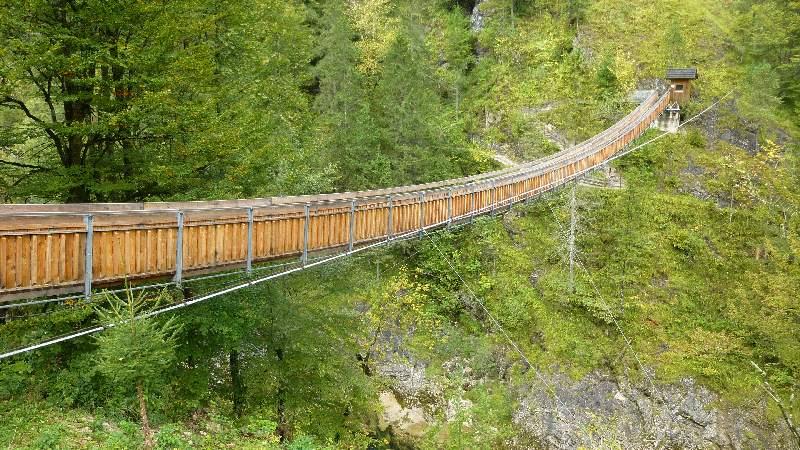 Wasserlochklamm Klamm Hängebrücke Steiermark Wasserfälle Wasserfall Wandern Wanderung Palfau