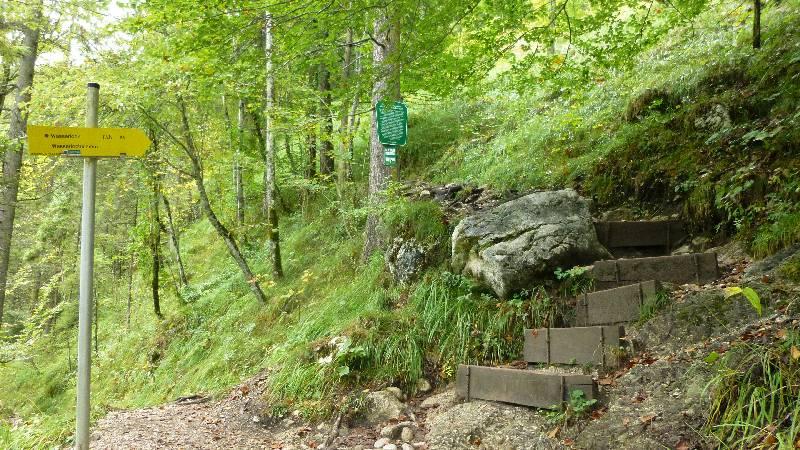 Wasserlochklamm Klamm Steiermark Wasserfälle Wasserfall Wandern Wanderung Palfau