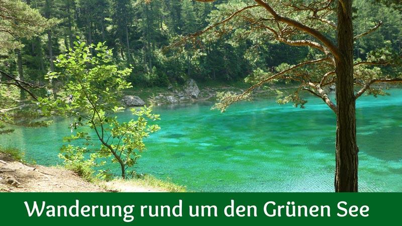Wanderung rund um den Grünen See