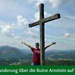 Einfache Wanderung über die Ruine Arnstein auf den Peilstein