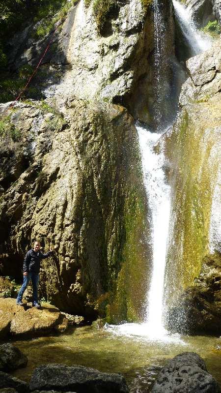 Der Sebastian Wasserfall im August 2014