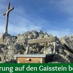 Wanderung auf den Gaisstein bei Furth