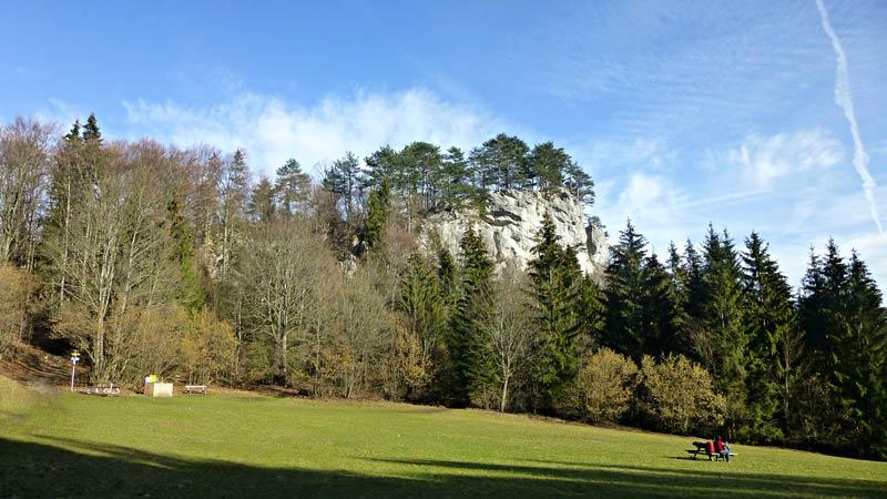 Myrafälle Wandern Wanderung Hausstein Aussicht Gipfelkreuz Natur Wald Ausflug Haussteinwiese Muggendorf