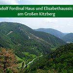 Rudolf Fordinal Haus und Elisabethaussicht am Großen Kitzberg