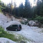 Meine VW Touran Mini Camper Abenteuer 2019